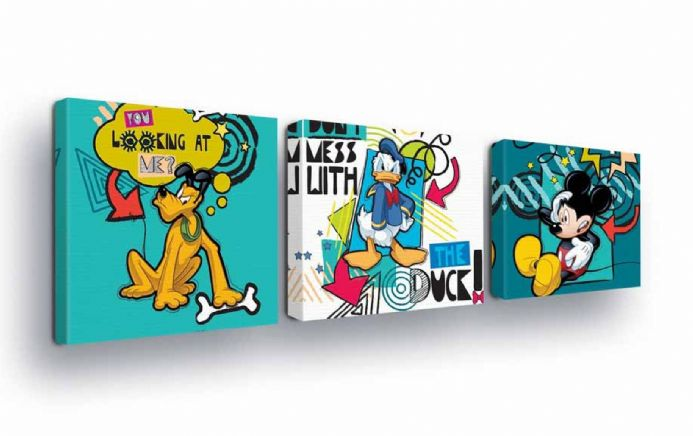 Mickey Mouse Disney Canvas set | Buy now